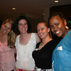 """Loungers"" pose for the camera! Pictured from the left: Erin, Erin, Dana and Rozella."