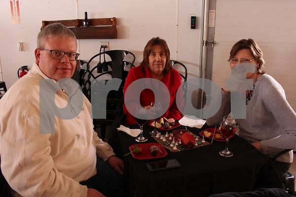 Quint Nelson, Rhonda Nelson, and Karen Thode