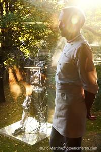 PATRICK ROGER CHOCOLATIER SCULPTEUR.  L'atelier de Patrick Roger à Sceaux