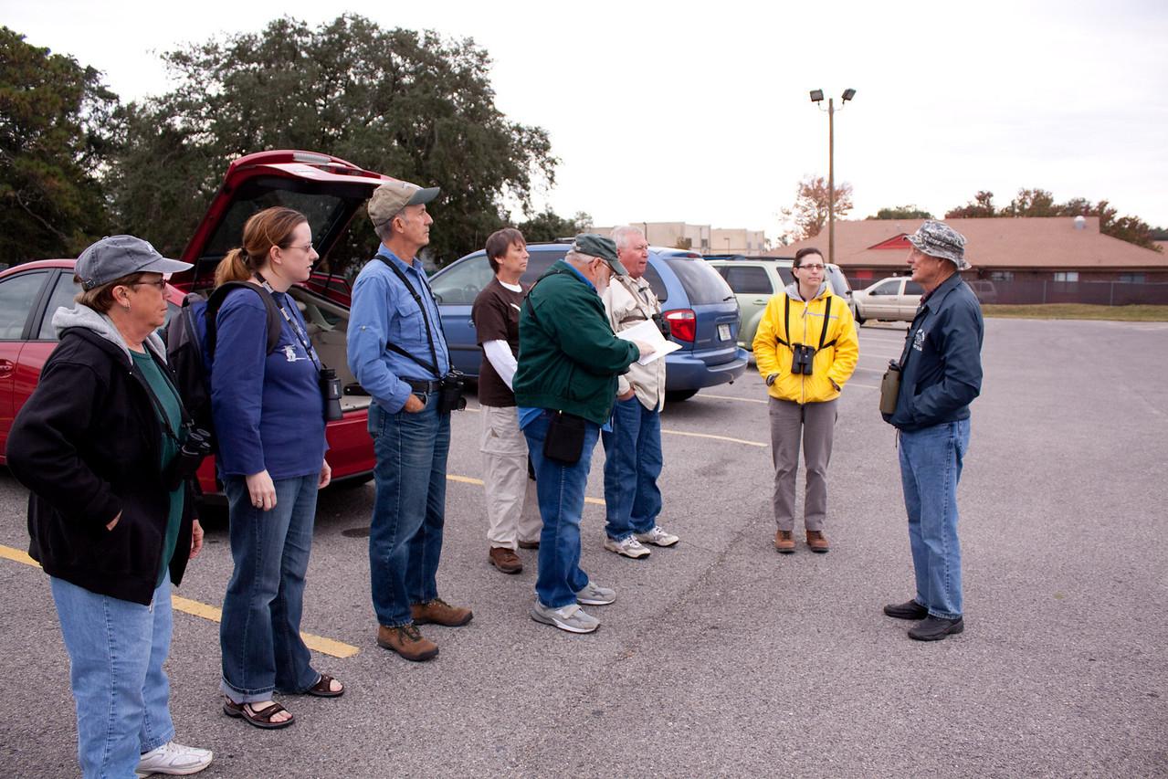 Participants of CAS Bird walk - Meeting at Coach-N-Four Restaurant