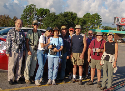 CAS Birdwalk Participants 8-8-09