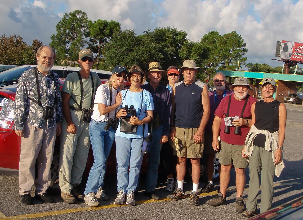 CAS Birdwalk Participants 8-8-09