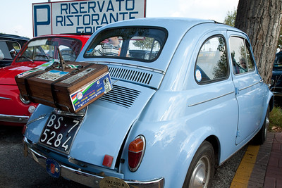 Fiat 500  meeting in Sirmione