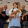 Sarah is Dorothy with Toto the fox