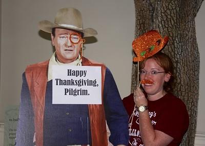 Chancel Happy Thanksgiving Pilgrim 24 Nov 15