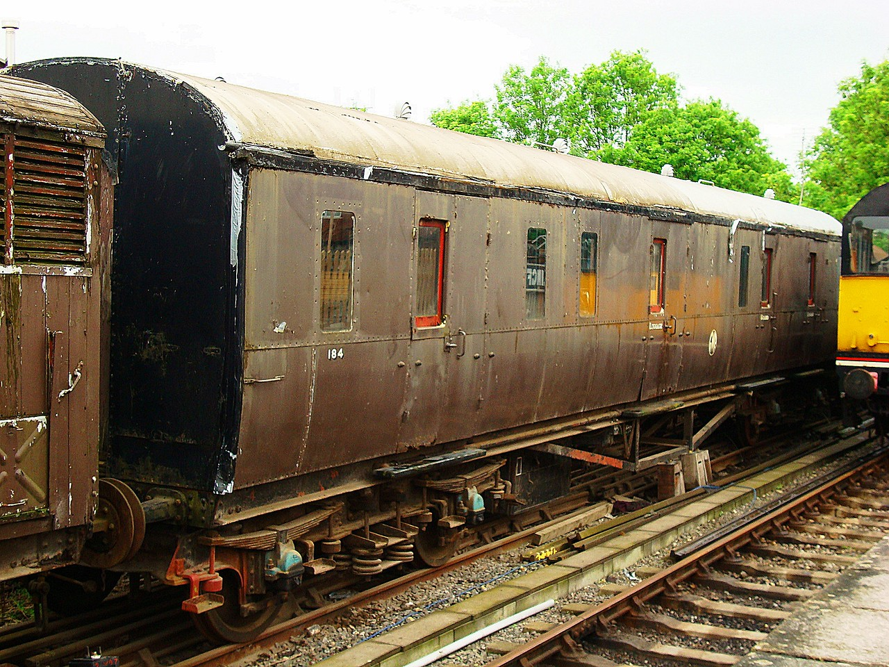 GWR 184 Gangway Full Brake 'Collett BG' 16,05,2008.
