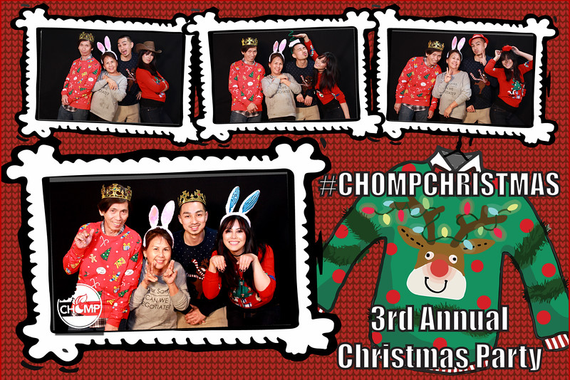 Chomp Ugly Sweater Party