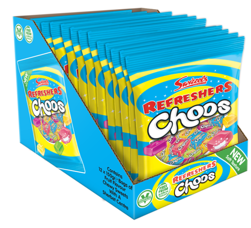 74366 Refreshers Choos 150g SRP