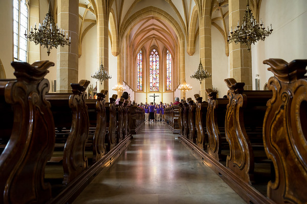 Day 4 - Travel day to Vienna with a concert in Graz at Franziskanerkirche