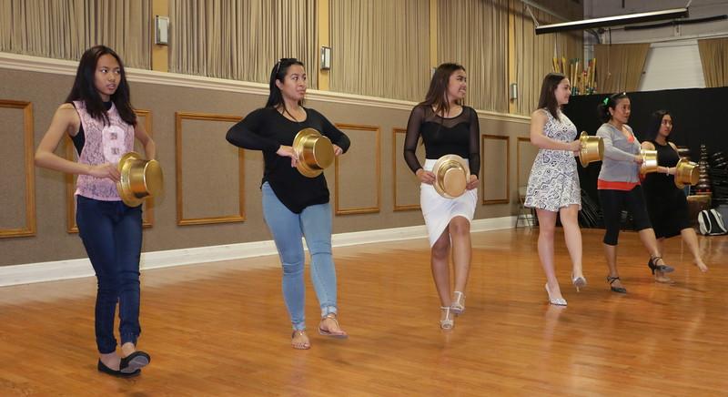 Chorus Line  Dance Practice Session WK4  for Miss Manila 2016