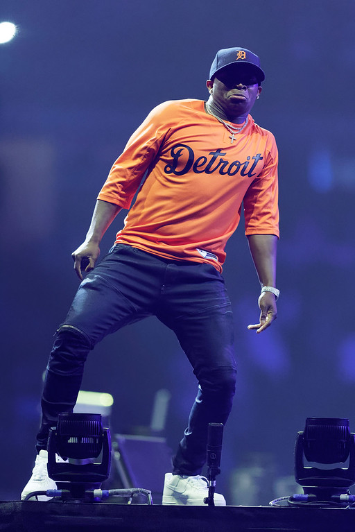 . O.T. Genasis  live at The Palace of Auburn Hills on 4-7-17. Photo  credit: Ken Settle