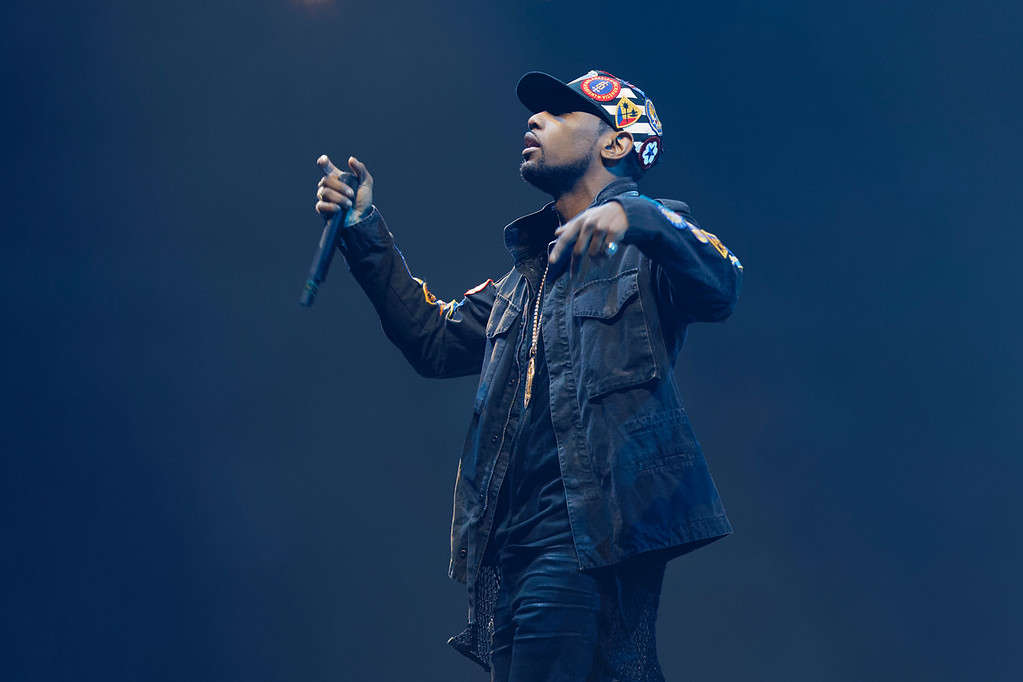 . Fabolous  live at The Palace of Auburn Hills on 4-7-17. Photo  credit: Ken Settle