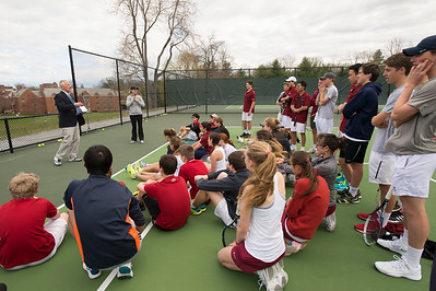 Tennis clinic with Chris Evert