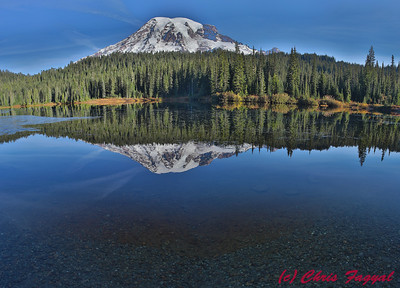 Mt Ranier at Reflection Lake