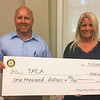 Fettes YMCA Rotary Check Presentation