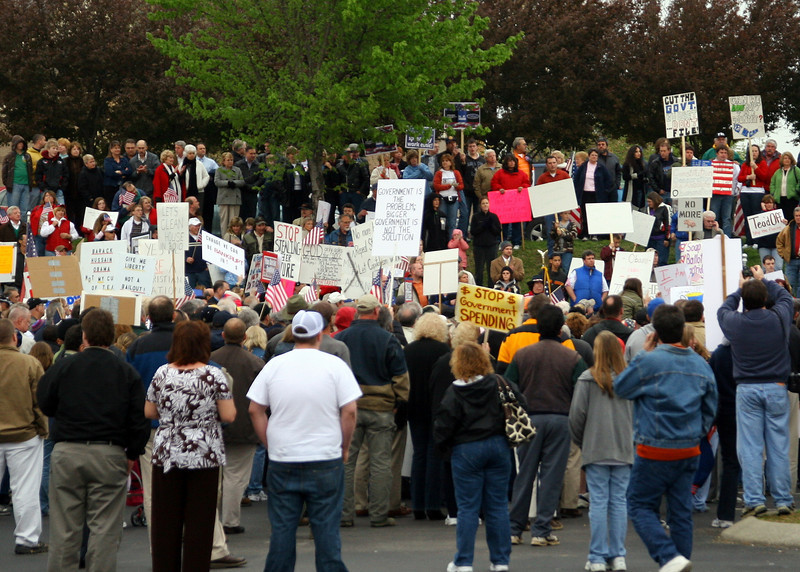 Sumner County Tea Party Hendersonville TN. 04/15/09