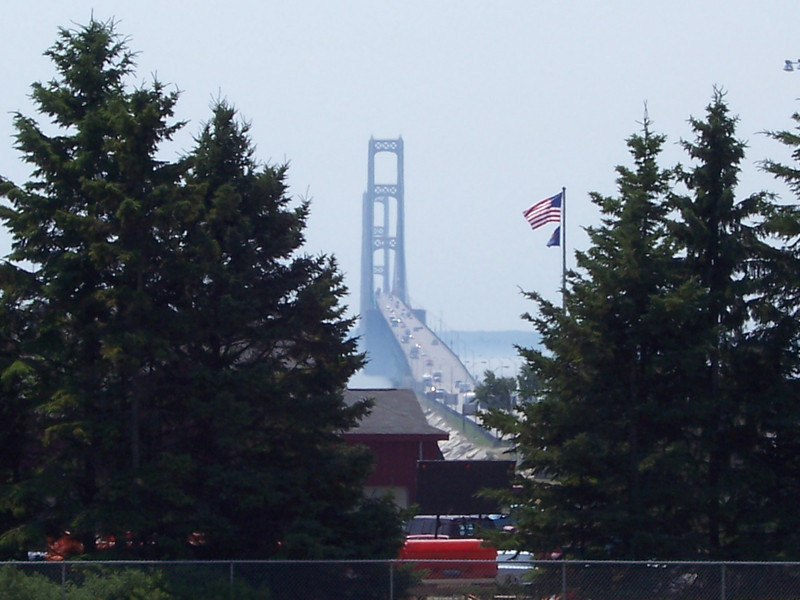 Mackinaw Bridge MI. Summer 2005