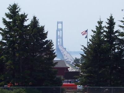 Mackinaw Bridge MI. Summer 2005