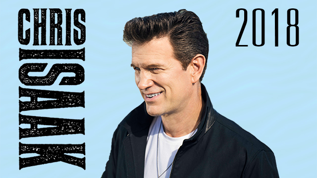 Chris Isaak - 2018