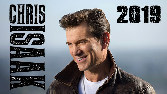 Chris Isaak - 2019