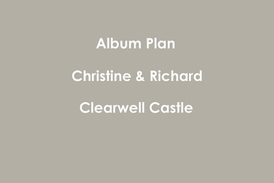 Chris & Rich - Clearwell Castle 25x35cm Storybook Wedding Album