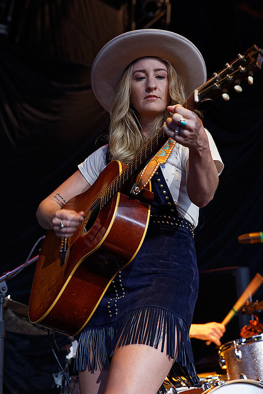 . Margo Price  live at DTE Music Theatre on 8-19-17. Photo  credit: Ken Settle