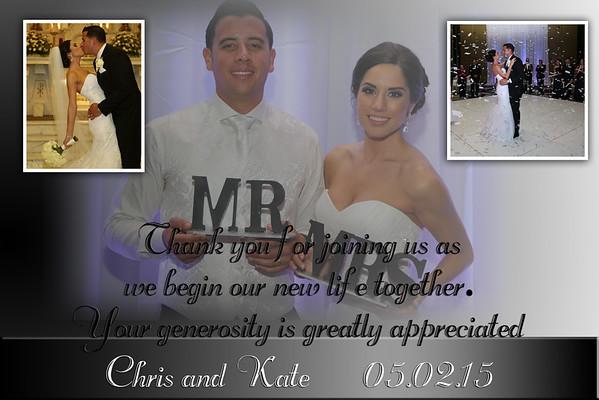 Chris and Kate thank u