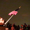 Flag on sternwheeler