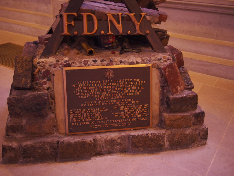 FDNY/cross monument - 2