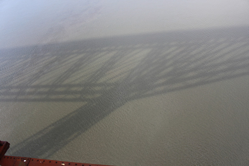 Shadow of the bridge