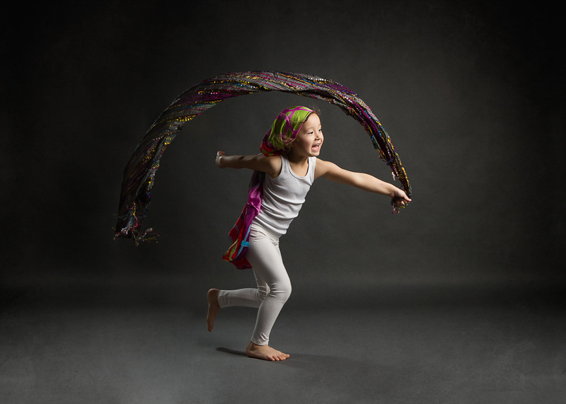 Our daughter playing in my studio. Lit with @Strobepro lights.