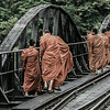 Blessing the bridge over the river Kwai