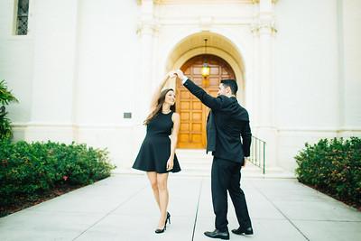 Chrissie  + Dave | Rollins College | Winter Park Engagement