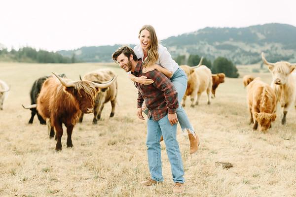 Chrissie + Spencer | Bozeman, MT