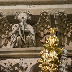 Yorkminster Cathedral, details of the quire screen