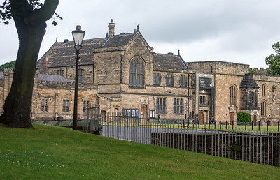 Durham University Library, in the cathedral precinct