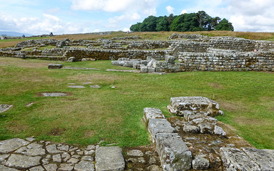 In and around Housesteads Fort