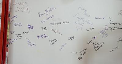 More signatures.