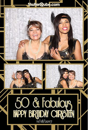 Christeen's 50th Birthday 11/18/17 Houston
