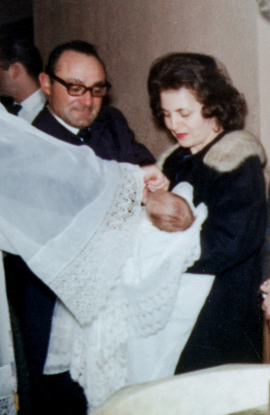 Cece's Christening - Feb. 1965