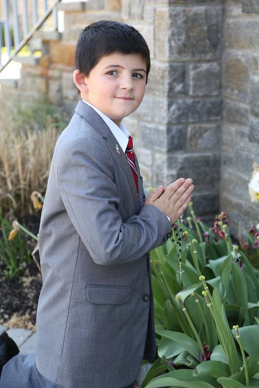 4-24-16 Jack's Communion Photo Shoot
