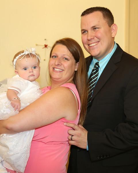 Baptism of Aubrey Harper 8-23-15
