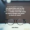 John Paton on Ideas