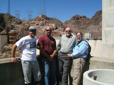 The team at Hoover Dam.