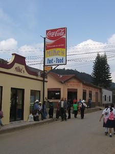 Mike's favorite Honduran restaurant