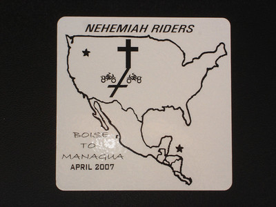 Nehemiah Riders  Mexico and beyond