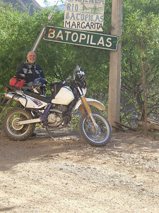 Trophy photo. I made it to Batopilas!