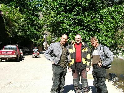 Mike D., Ken, Eric in Batopilas
