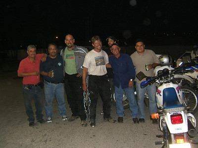 We ran into these guys at a gas station in Santa Rosa de Copan, Honduras.  They have a bike club there.  We talked for while and were supposed to stay in the same hotel as them but it didn´t work out.  They said they have 90 plus in their club.
