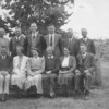 1948: Back. Percy Hill, Jack Zantuck, Bill McCourt, Syd Modra, Bert Cameron, Percy Proughton,<br /> Sitting: Clem Geue, Georgie Manning, Grace Machen, Lucy Manning, Dorcus Borland, Chris Williams